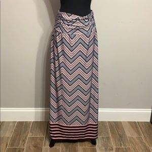 Maxi Skirt with rushed waist
